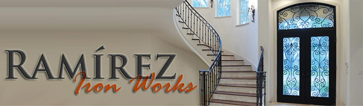Custom Iron Door Manufacturing and Installation - Ramirez Iron Works
