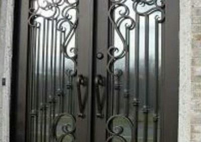 Custom Iron Door 308