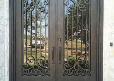 Custom Iron Door 343