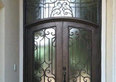 Custom Iron Door 342