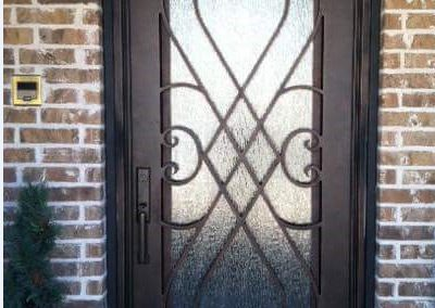 Custom Iron Door 341