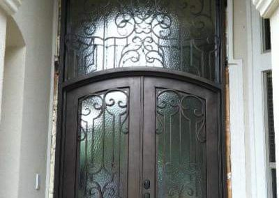 Custom Iron Door 340