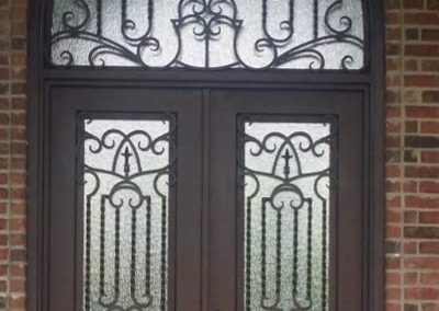 Custom Iron Door 337