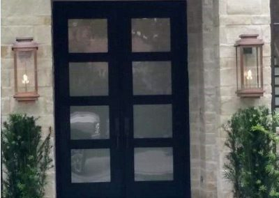 Custom Iron Door 336