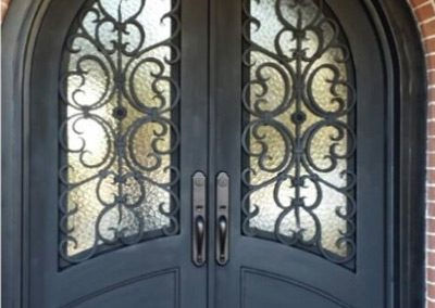 Custom Iron Door 334