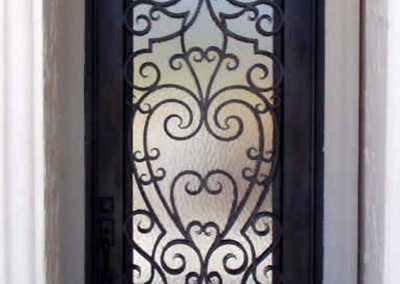 Custom Iron Door 313