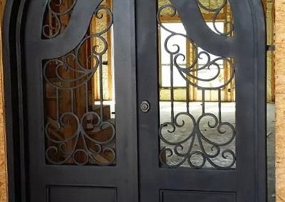 Custom Iron Door 331