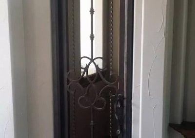 Custom Iron Door 329