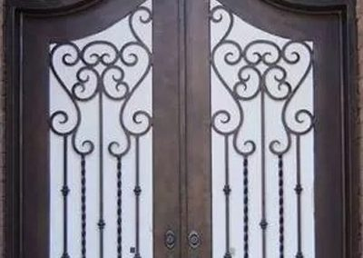 Custom Iron Door 327