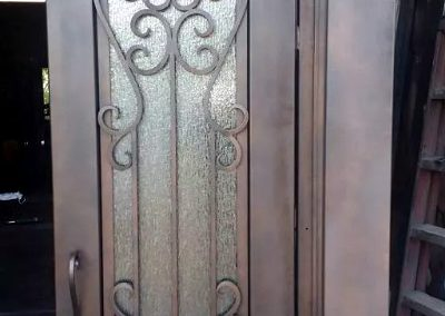 Custom Iron Door 326