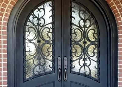 Custom Iron Door 324