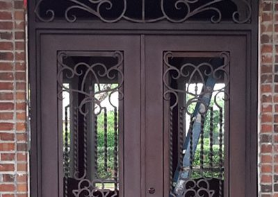 Custom Iron Door 312