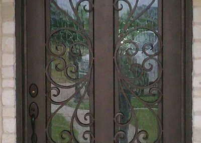 Custom Iron Door 322