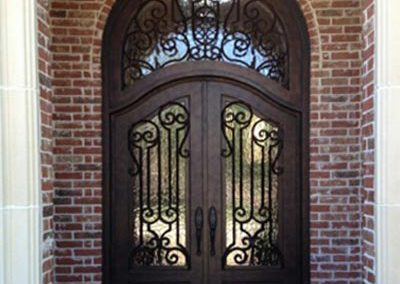 Custom Iron Door 319
