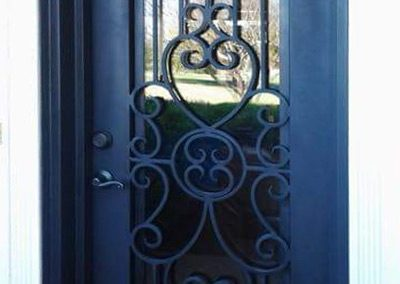 Custom Iron Door 318