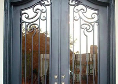 Custom Iron Door 316