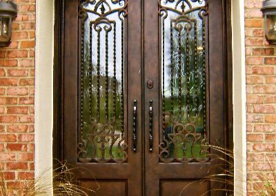 Custom Iron Door 315