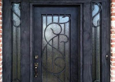 Custom Iron Door 373