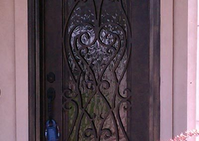 Custom Iron Door 372