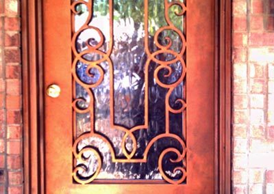 Custom Iron Door 370