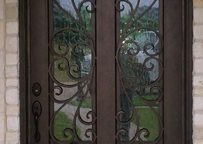 Custom Iron Door 369