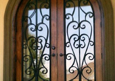 Custom Iron Door 367
