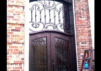 Custom Iron Door 364