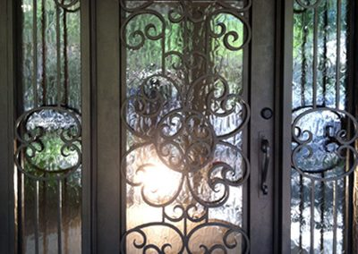 Custom Iron Door 363