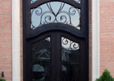 Custom Iron Door 362