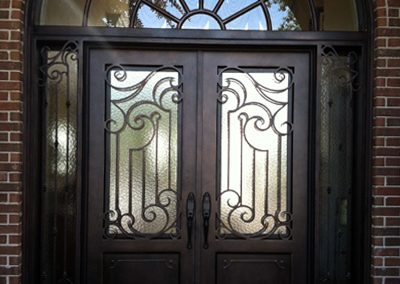 Custom Iron Door 361