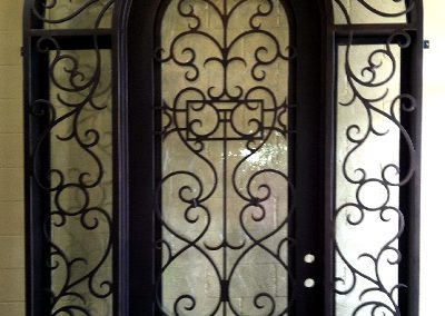 Custom Iron Door 359