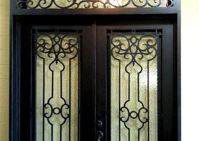 Custom Iron Door 358