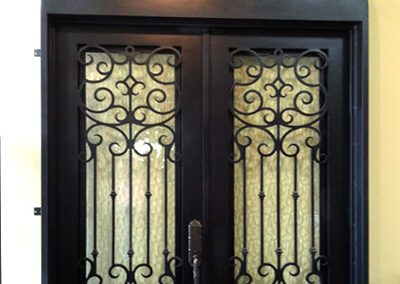 Custom Iron Door 357