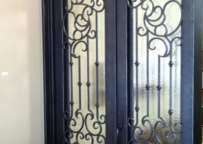 Custom Iron Door 356