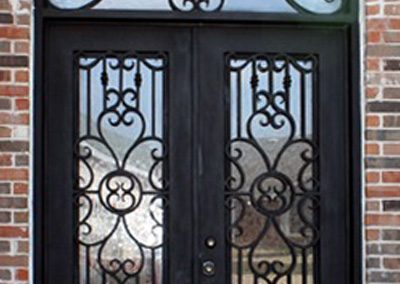Custom Iron Door 355