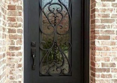 Custom Iron Door 310