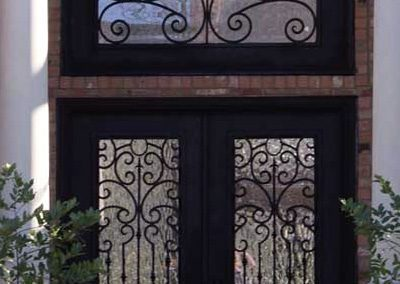 Custom Iron Door 354