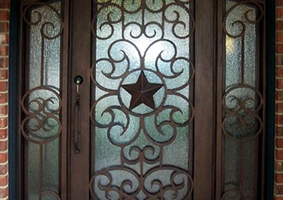 Custom Iron Door 352