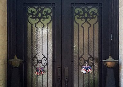 Custom Iron Door 351