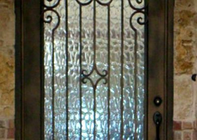 Custom Iron Door 350