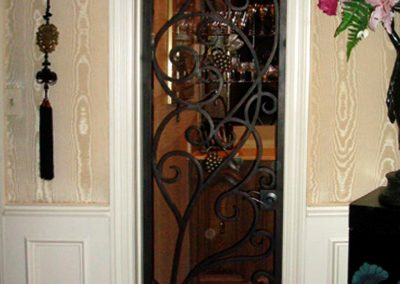 Custom Iron Door 349