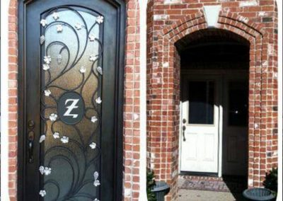 Custom Iron Door 347