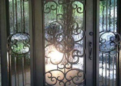Custom Iron Door 344