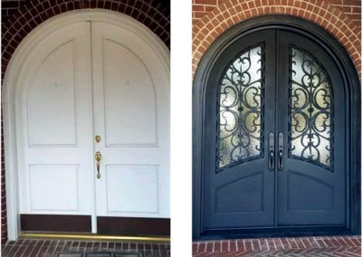 Custom Iron Door 385
