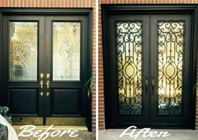 Custom Iron Door 383