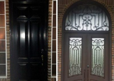 Custom Iron Door 382