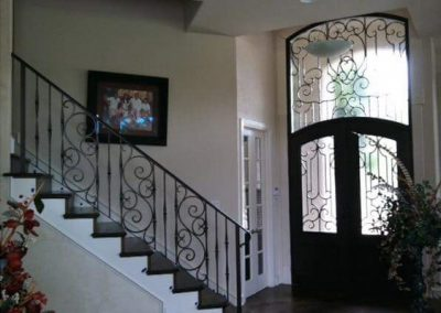 Custom Iron Door 381