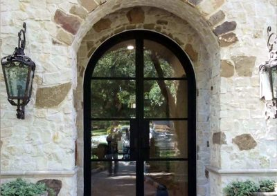 Custom Iron Door 378