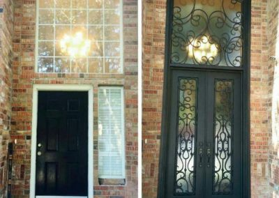 Custom Iron Door 377
