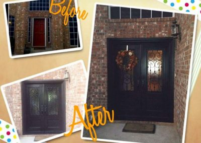 Custom Iron Door 376